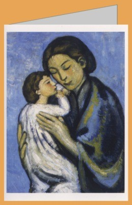Pablo Picasso. Mutter und Kind. DK