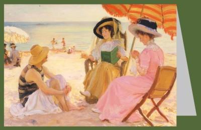 Alfred Victor Fournier. Der Strand, 1929