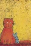 Korth-Sander, Imke. Katze mit Maus. KK