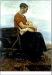 Fritz Mackensen. Der Säugling. KK
