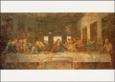 Leonardo da Vinci. Das Abendmahl, 1495/97.