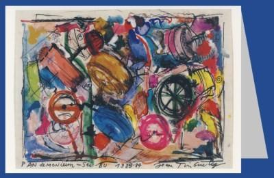 Jean Tinguely. Pandemonium Seibu, 1983/84