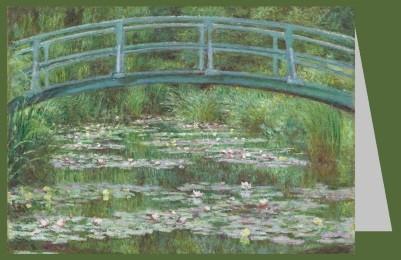 Claude Monet. Die japanische Fußgängerbrücke, 1899