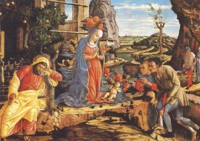 Mantegna, A. Anbetung der Hirten. KK