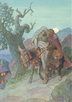 Rudolf Schäfer. Das Gleichnis vom barmherzigen Samariter