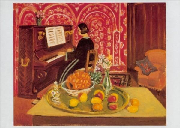 Henri Matisse. Klavierspielerin und Stilleben, 1924. KK