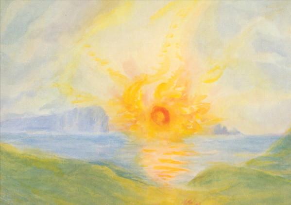 Hilde Boos. Sonnenaufgang, 1939