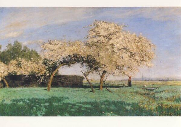 Hans Ende. Frühlingstag, 1897/98. KK