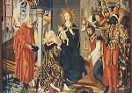 Herlin, F. Anbetung der Könige. Flügelaltar. 1473. KK