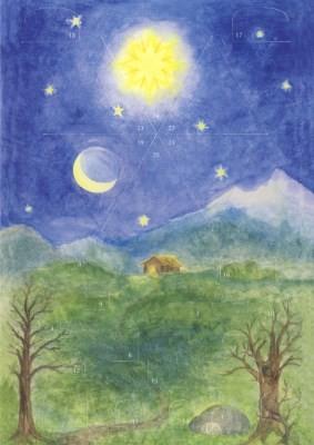 Dorothea Bernet. Der Weihnachtsstern. 21 x 14,8 cm, klein