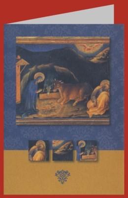 Gentile da Fabriano. Geburt Christi, 15. Jh.