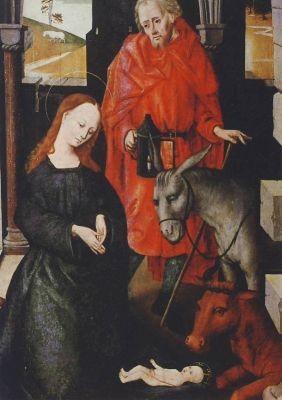 Pedone, M. Die Geburt Christi, 15. Jh. KK