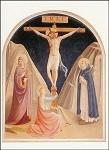 Angelico, Fra. Der Gekreuzige, 1439/45. KK.
