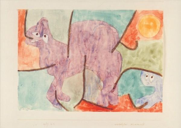Klee, P. Verfolgter Kamuff, 1939. KK