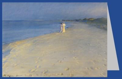 Peder Severin Krøyer. Sommerabend am Südstrand von Skagen