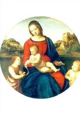 Raffael. Madonna Terranuova. KK