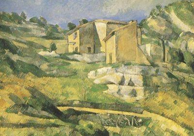 Cézanne, P. Häuser in Estaque, 1880. KK