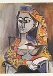 Picasso, P. Jacqueline im türkischen Kostüm. KK