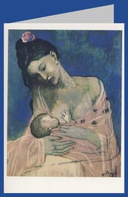Pablo Picasso. Mutter und Kind.
