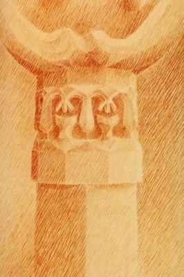 Kapitelle der Grossen Kuppel des Goetheanums