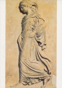 Griechisch. Schreitende Athena. KK