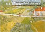 Gogh, V. Landschaft bei Auvers im Regen, 1890. KK