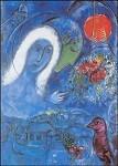 Marc Chagall. Champs de Mars, 1954/55. KK