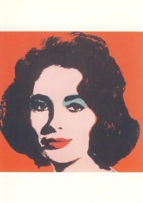 Warhol, Andy. Liz, 1964