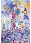 Marc Chagall. Über den Dächern von Paris, 1970. KK