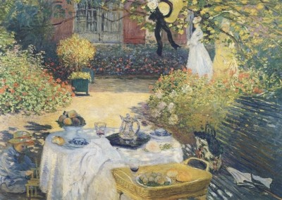 Claude Monet. Das Mittagessen, 1874