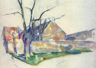 Cézanne, P. Winterlandschaft, 1885