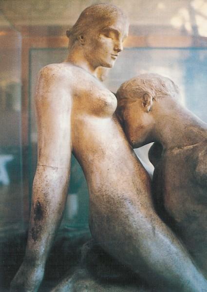 Auguste Rodin. Zeitloses Idol, Ausschnitt 1889. KK