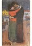 Picasso, P. Liebespaar auf der Strasse, 1900. KK