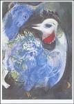 Marc Chagall. Die blühende Feder, 1943. KK