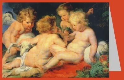 Rubens, Peter-Paul, Christus mit Johannesknaben und 2 Engeln
