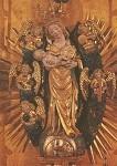 Madonna/musizierende. Boeslunde-Altar in Lübeck ca. 1435. KK