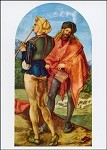 Albrecht Dürer. Pfeifer und Trommler. KK