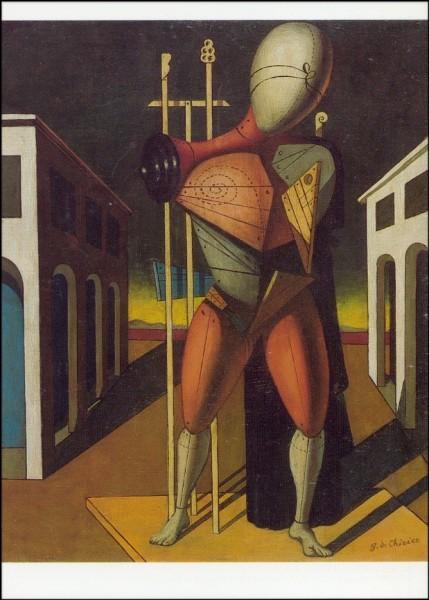 Chirico, Giorgio de. Troubadour, ca. 1916. KK