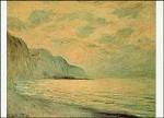 Claude Monet. Sonnenuntergang. KK