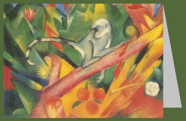 Franz Marc. Das Äffchen, 1912