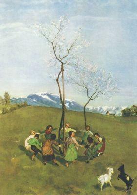 Hans Thoma. Frühlingsreigen