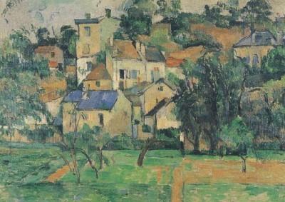 Cézanne, P. Die Eremitage in Pontoise, um 1881