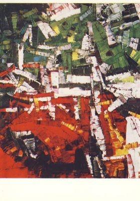 Riopelle, J.-P. Rencontre, 1956. KK