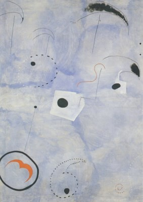 Joan Miró. Komposition, 1925