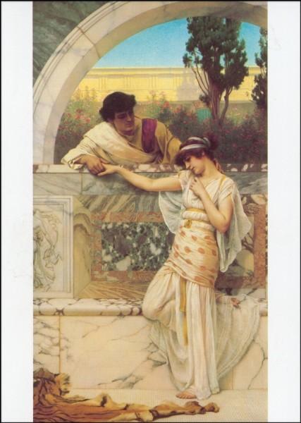 Godward, John William. Ja oder nein, 1893. KK