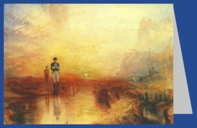 Joseph Mallord William Turner. Krieg-Das Exil/Napfschnecke