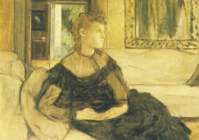 Edgar Degas. Mad. Gobillard (Y. Morisot)