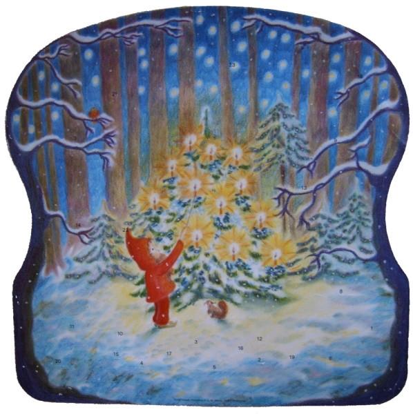 Hewel, A. Weihnachten im Walde, Adventskalender.