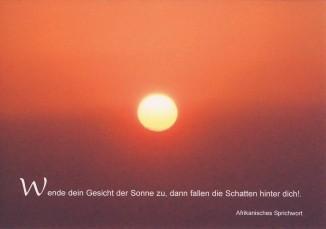 Steffens-Knutzen. Wende dein Gesicht der Sonne zu. Foto-DK