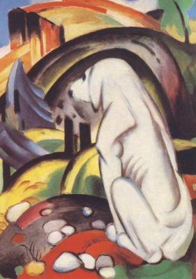 Franz Marc. Hund vor der Welt, 1912. KK